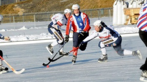 Hamar Idrettspark bandybane