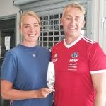 Kristine og Øyvind Røsland ble tildelt HIL-pokalen